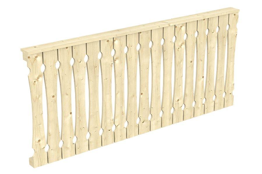 holzbalkongel nder holz balkongelaender. Black Bedroom Furniture Sets. Home Design Ideas